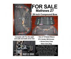 Mathews Compound Bow with extras