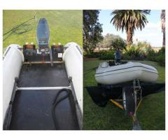 Gemini Inflatable Boat with Accesories